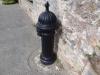 old black hydrant