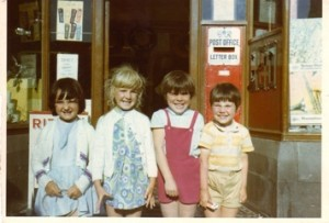 Claire Maddock, Claire Sheilds, me and Stuart Banford - all holidaymakers