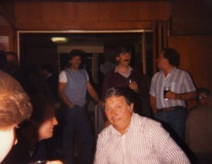 Mike Taylor in background