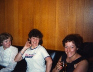 Rhona, Helen Ferguson and Muriel