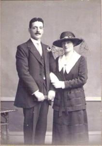 Lottie Morrison and Frank Law 1919