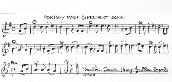portsoy song tune with chords